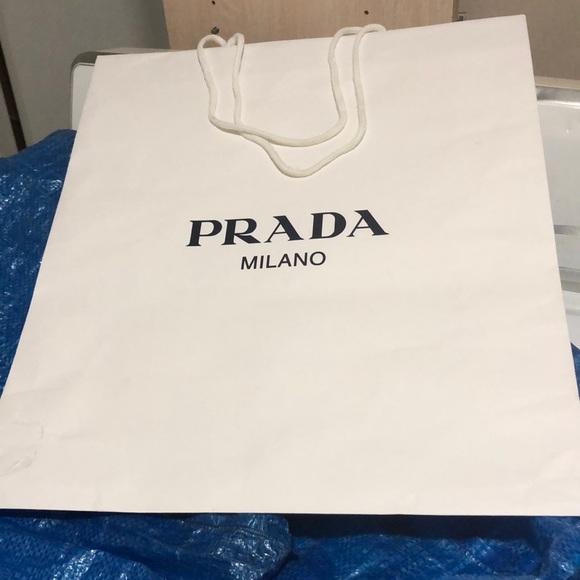 b53181c5ad9f ... switzerland prada large paper bag 87c05 4aadb
